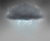 Stormy cloud Royalty Free Stock Photo