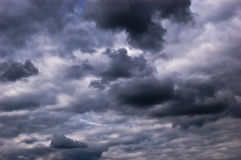 Stormy clouds Stock Photography