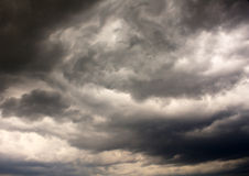 Stormy clouds Stock Photos
