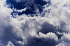 Stormy clouds Stock Image