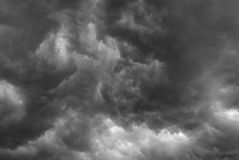 Stormy clouds. Stock Images