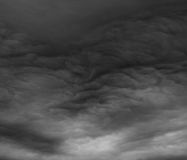 Stormy clouds as if armageddon. Stock Photography