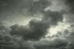 Stormy Clouds Background Royalty Free Stock Photography