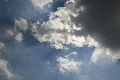 Stormy clouds. Stormy, dark clouds on the rainy sky Royalty Free Stock Images