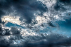 Stormy Clouds HDR Stock Photos