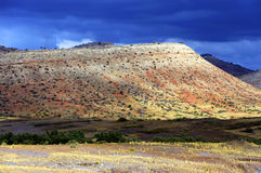 Stormy clouds over Atlas Mountains Stock Image