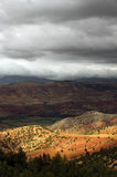 Stormy clouds over Atlas Mountains Royalty Free Stock Image