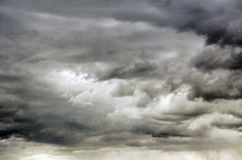 Stormy clouds over colorado Stock Images