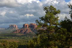 Stormy clouds over Sedona, Arizona Stock Image