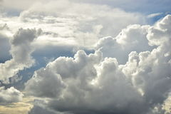 Stormy clouds in the sky Royalty Free Stock Images