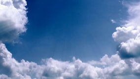 Stormy clouds time lapse, stock footage. Video stock video