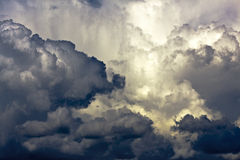 Stormy cloudscape Royalty Free Stock Photography