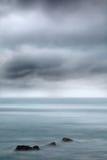 Stormy coast Stock Image