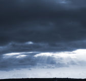 stormy day Royalty Free Stock Photography