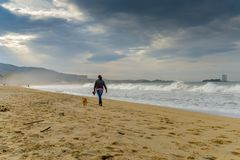 Free Stormy Day At Samil - Vigo Stock Photos - 133926653