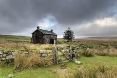 Stormy Day on Dartmoor Stock Photos