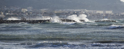 Stormy day Stock Photo