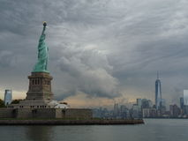 Stormy Day in New York Stock Photo