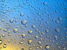 Stormy droplets #3.  stock image