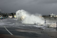 Stormy England Royalty Free Stock Image