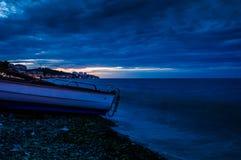 Stormy Evening Seaside Stock Photos