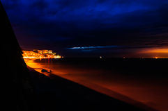 Stormy Evening Seaside Royalty Free Stock Image