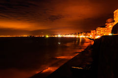 Stormy Evening Seaside Royalty Free Stock Images