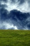 The stormy Field. A premade background for artists to use in their artwork or graphic design work Royalty Free Stock Photography