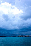 Stormy Harbor Stock Photography