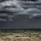 Stormy horizon Royalty Free Stock Photo