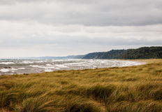 Stormy Lake Michigan Royalty Free Stock Images
