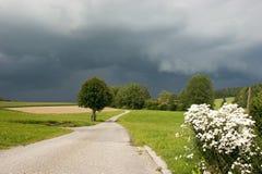 Stormy landscape Stock Photos