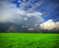 Stormy landscape Royalty Free Stock Images