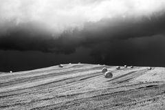 Stormy landscape in Campania (Italy) Royalty Free Stock Image