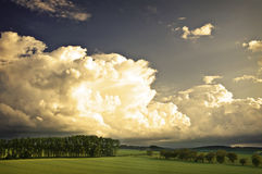 Stormy landscape cloud Royalty Free Stock Photography