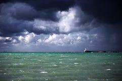Stormy landscape Royalty Free Stock Image