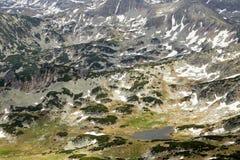 Stormy landscape in National Park Retezat Royalty Free Stock Photo