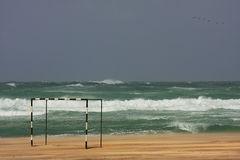 Stormy Mediterranean Sea. Stock Photography