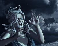 Stormy Medusa Royalty Free Stock Photo