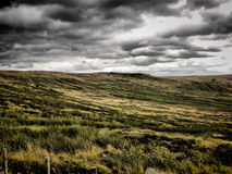 Stormy Moor Stock Photography