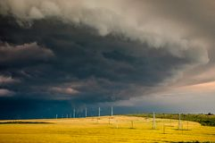Stormy morning 3 royalty free stock photography