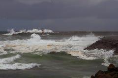 Stormy mornings Stock Photos