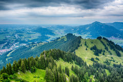 Stormy Mountain Landscape - the Alps Stock Photography