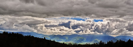 Stormy mountain landscape Royalty Free Stock Photos