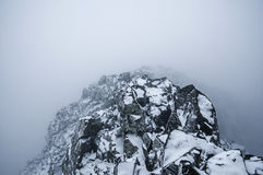 Stormy Mountain Top Royalty Free Stock Photography