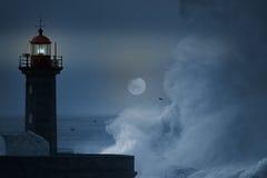 Stormy night Stock Image