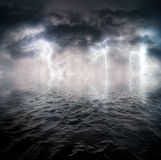 Stormy ocean Royalty Free Stock Image