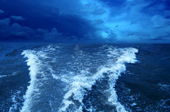 Stormy ocean. Stock Photo