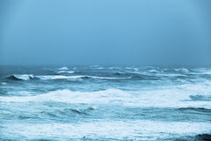 Stormy ocean Stock Photos