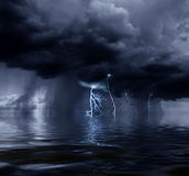 Stormy ocean Stock Photography